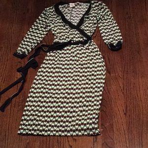 Max Studio spandex wrap dress